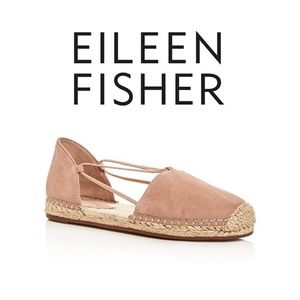 Eileen Fisher | Leather d'Orsay Espadrille Flats